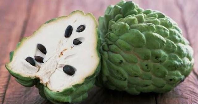 Srikaya fruit can solve the problem of diarrhea