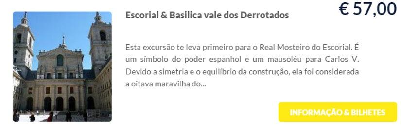 Madri - compre ingressos on-line para as atrações - Escorial & Basilica Vale dos Derrotados - Ticketbar