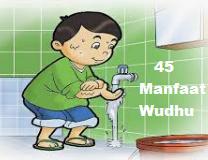 Pahami, 45 Manfaat Wudhu Untuk Kesehatan