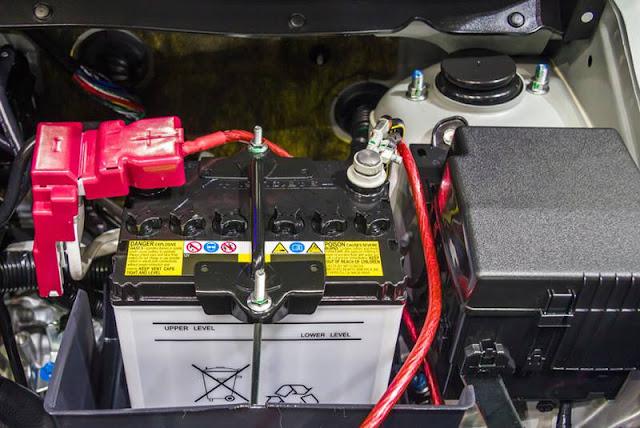 problème de batterie de voiture