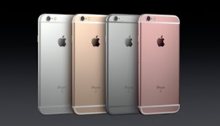 Pilihan warna iPhone 6S