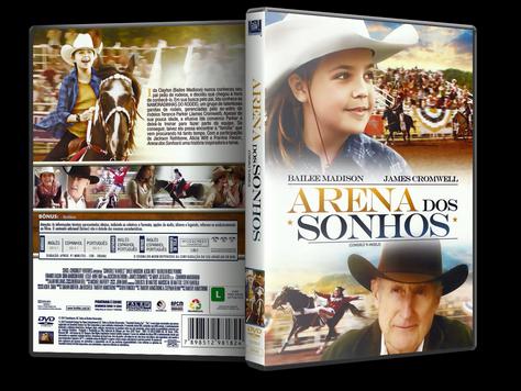 Capa DVD Arena dos Sonhos