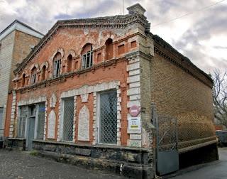 Будівля колишньої синагоги, зведеної в XIX столітті. м. Золотоноша