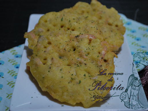 Tortillitas de camarones #singluten