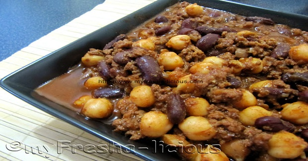 Spicy Beef & Beans Stew Recipe