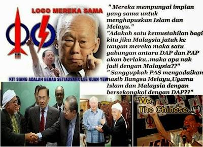 DAP Dah Tak Releven Pada Orang Cina, Orang Melayu Pula Rela jadi Kaldai..
