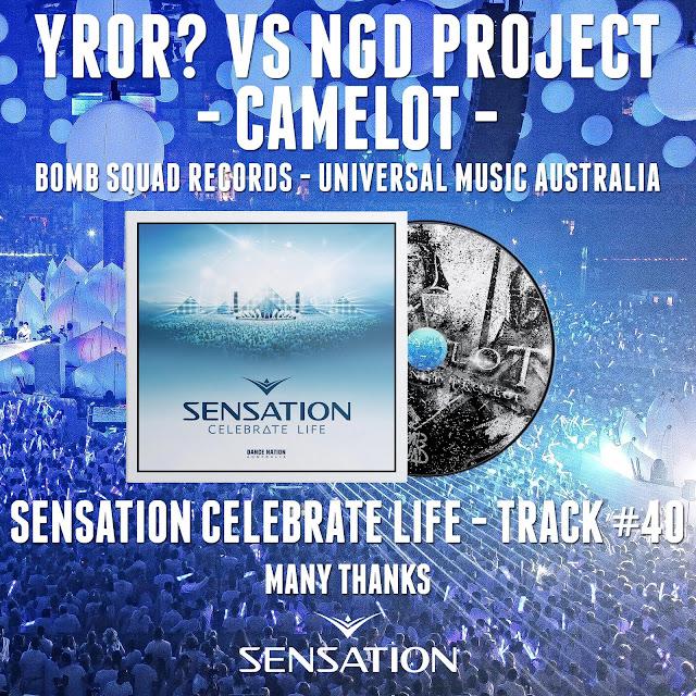 NGD Project Michael Gadani Alberto Tavanti YROR Sensation Celebrate Life Australia Top Camelot YROR Sensation White Celebrate Life Melbourne Bounce Minimal