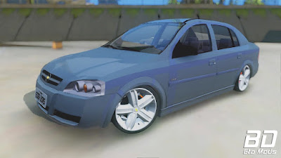 Mod carro Chevrolet Astra Sedan para GTA San Andreas, GTA SA