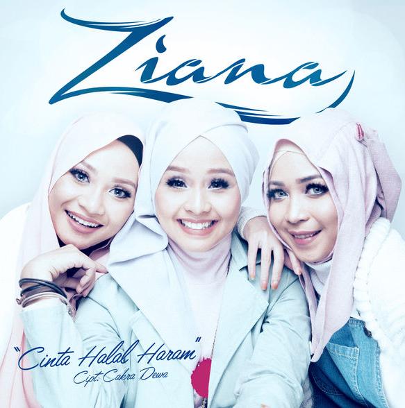 Lagu Ziana Cinta Halal Haram