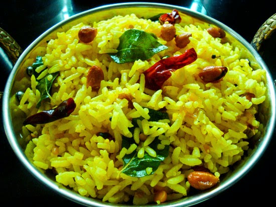 Chitranna (Lemon Rice)