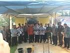 Peletakan batu pertama pembangunan GKII Imanuel Nanga Mahap
