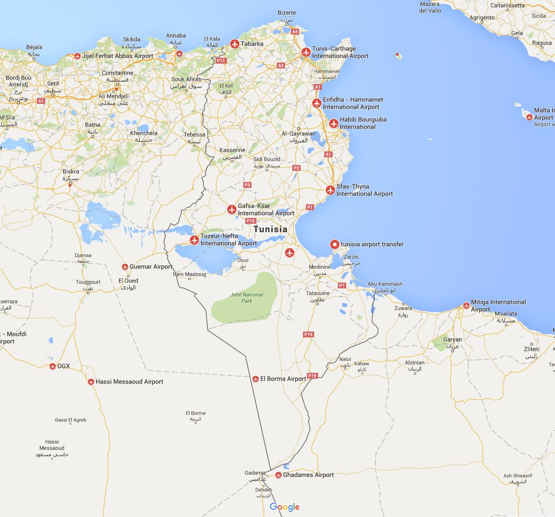 Airports Tunisia