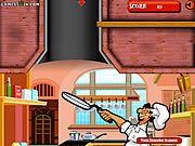 لعبة بابا رامي البيتزا