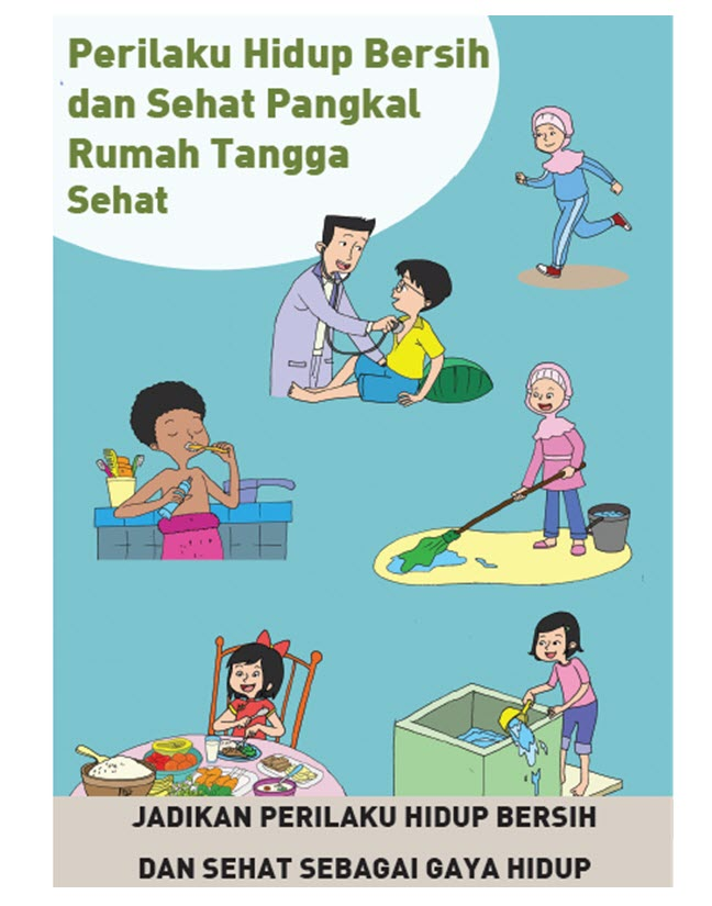 51+ Gambar Rumah Bersih Dan Sehat Kartun Gratis