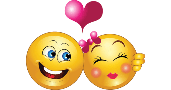 Adorable Smiley Couple Symbols Amp Emoticons