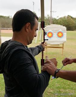 tiro de arco e flecha no Jurerê Sports Center