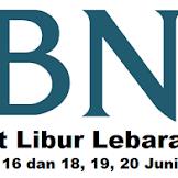 Lokasi Bank BNI Buka Pada 11, 12, 13, 14, 16 dan 18, 19, 20 Juni 2018 Jawa Barat
