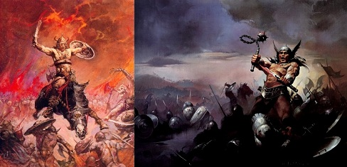 Conan király harca