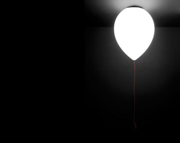 Illuminating Balloon Lamp