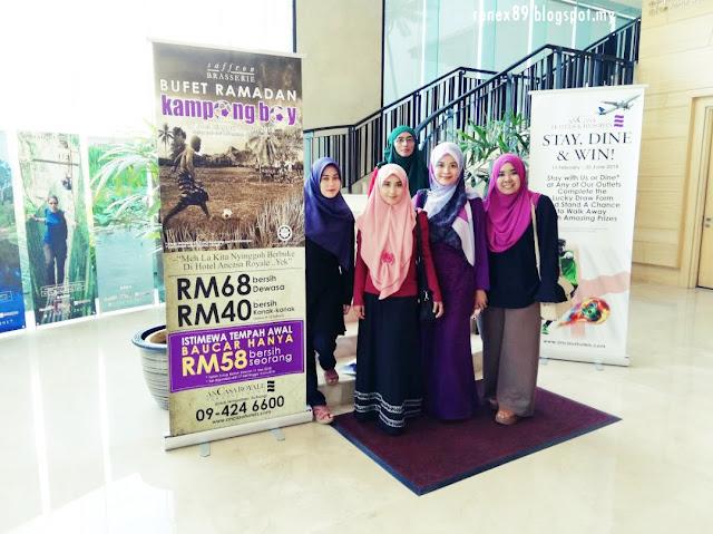 Buffet Ramadhan Bertemakan Kampung Boy di Ancasa Royale, Pekan