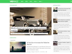 Viomagz - Responsive Blogger Template