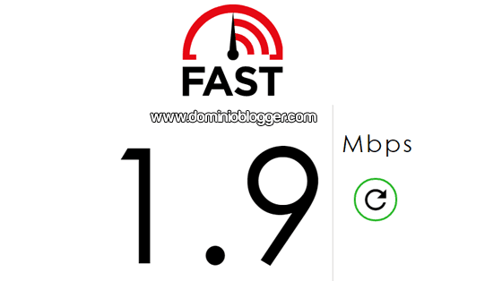 Medir la velocidad de conexion a internet