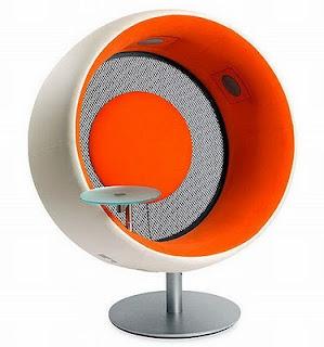 diseño de silla muy ingeniosa futuristas