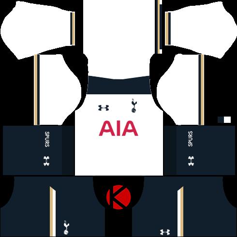 Tottenham Hotspur Kits 2016/17 - Dream League Soccer Kits and FTS15