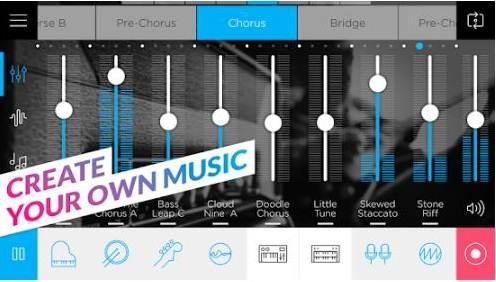 Aplikasi Edit Lagu Android Music Maker JAM