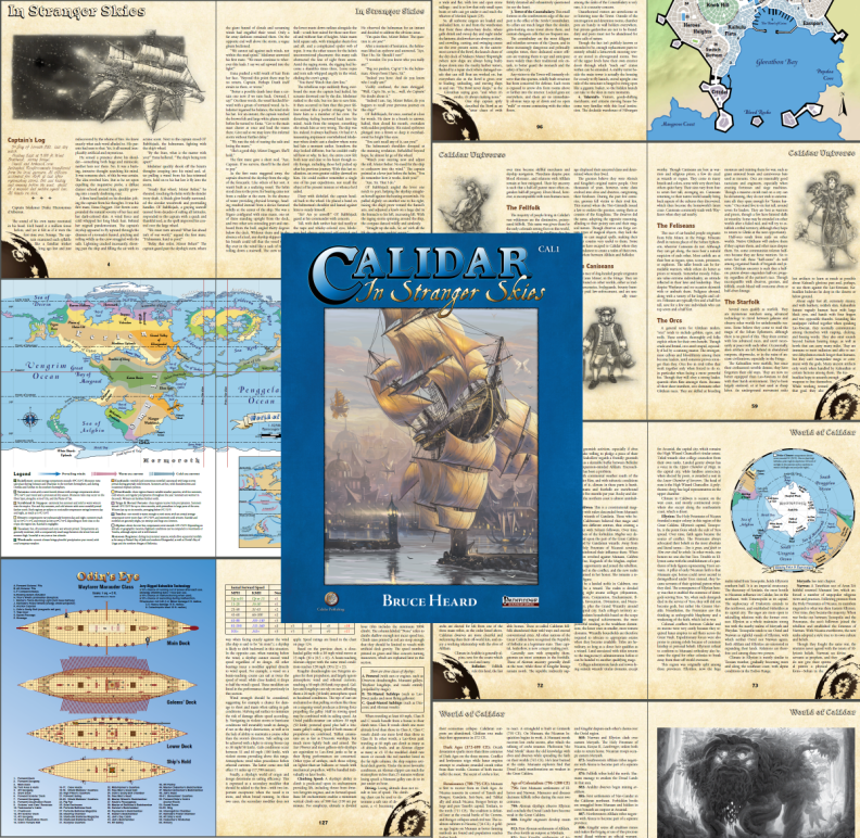 Calidar DTRPG Pathfinder