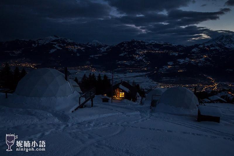 【瑞士住宿推薦】Hotel Whitepod  懷特波特酒店。瑞士最奇特的冰屋酒店