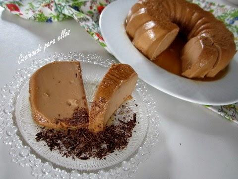Y chocolate flan nata de