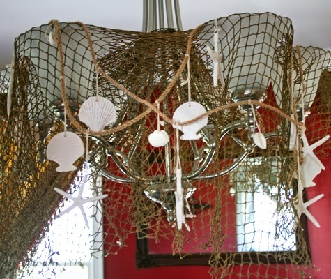 beach party chandelier