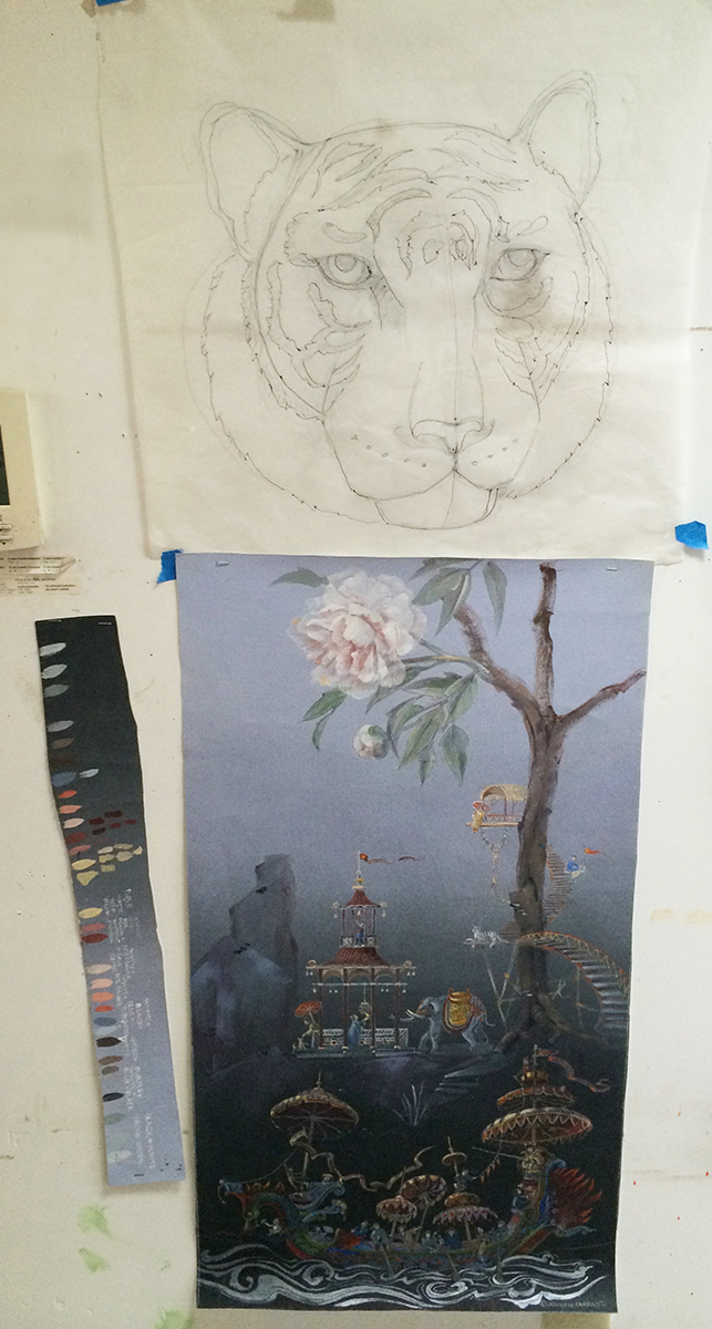 The Ornamentalist: Studio Visit: Jennifer Carrasco
