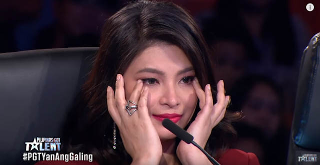 Angel Locsin Was In Tears After Watching Kimberly Collado's Harp And Song Number For Her Lola