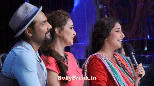Remo D'Souza, Madhuri Dixit and Vidya Balan, Jhalak Dikhhla Jaa 5th July Episode Pics - Vidya Balan as Guest