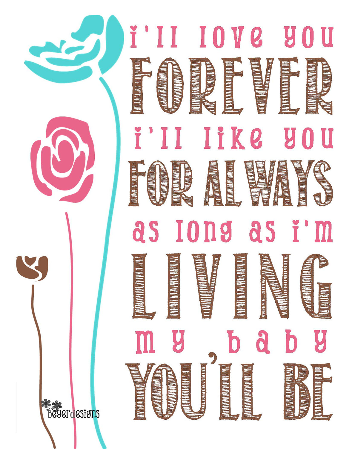 baby forever and always poem i love you baby forever and always poemI Love You Baby Forever