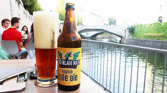 Loo blah nah Ljubljana beer