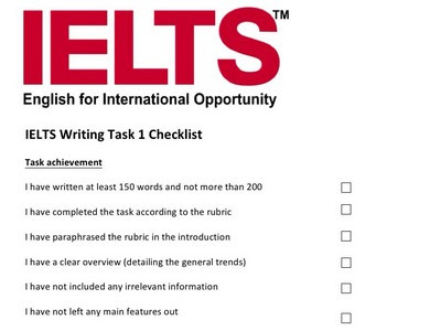 Tips IELTS of Written