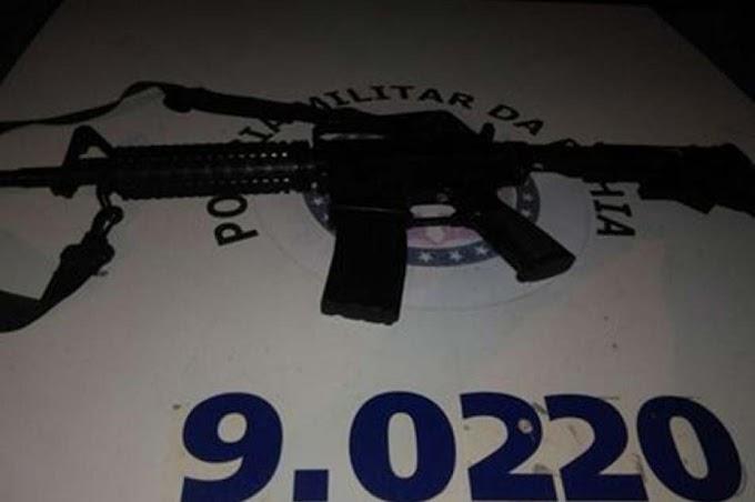 Arma roubada de policial militar em Irecê é recuperada; bandido morre na ação