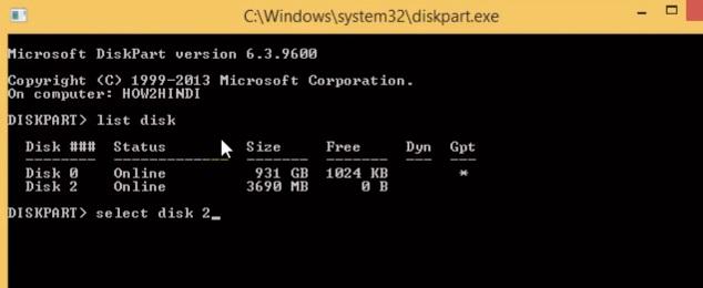 fix USB format problem