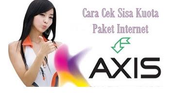 Cek Sisa Kuota Axis