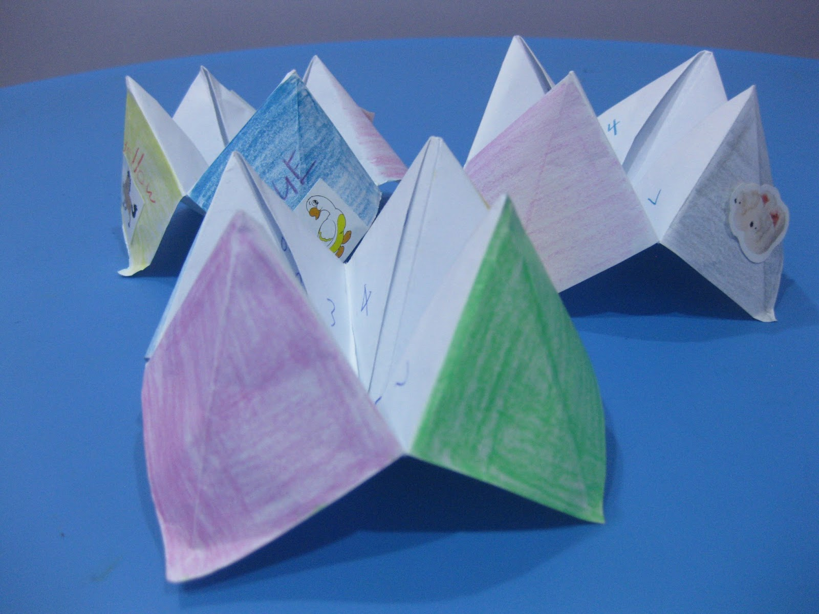 How To Make A Paper Fortune Teller With Step By Step