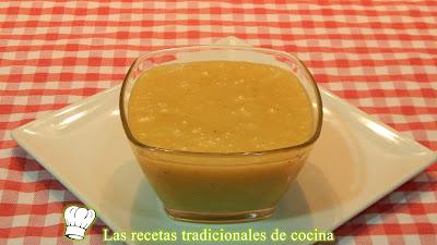 Receta de salsa de miel y mostaza