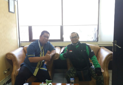 Mitra Go-Jek Bandarlampung Bangun Kerjasama Dengan BPJS Ketenagakerjaan