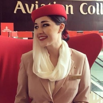 Air hostess gets sacked for falling down on duty