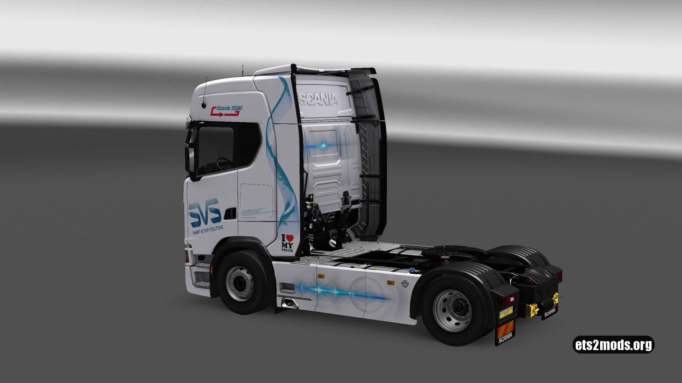 SVS Skin for Scania S580