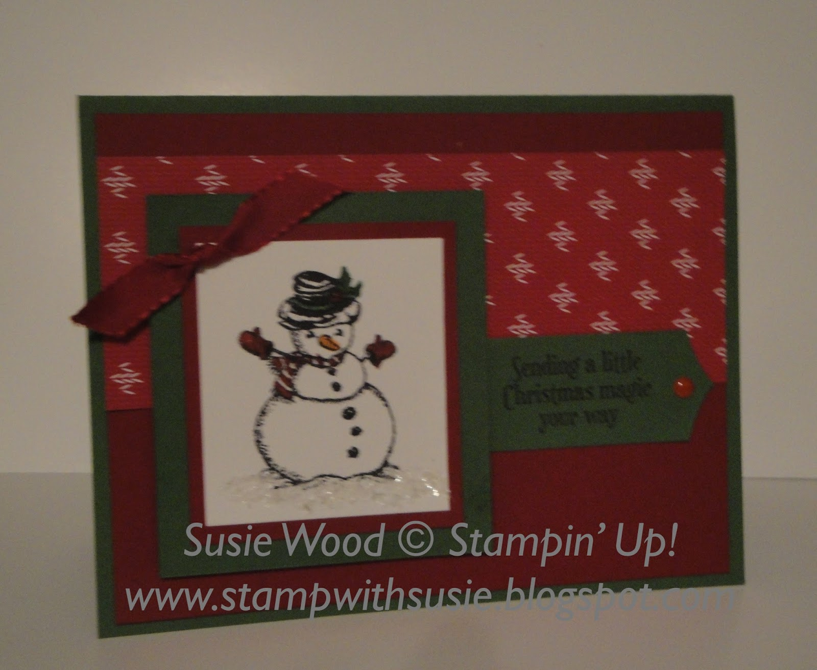 Stamp with Susie: Stampin' Up!'- 'Christmas Magic'