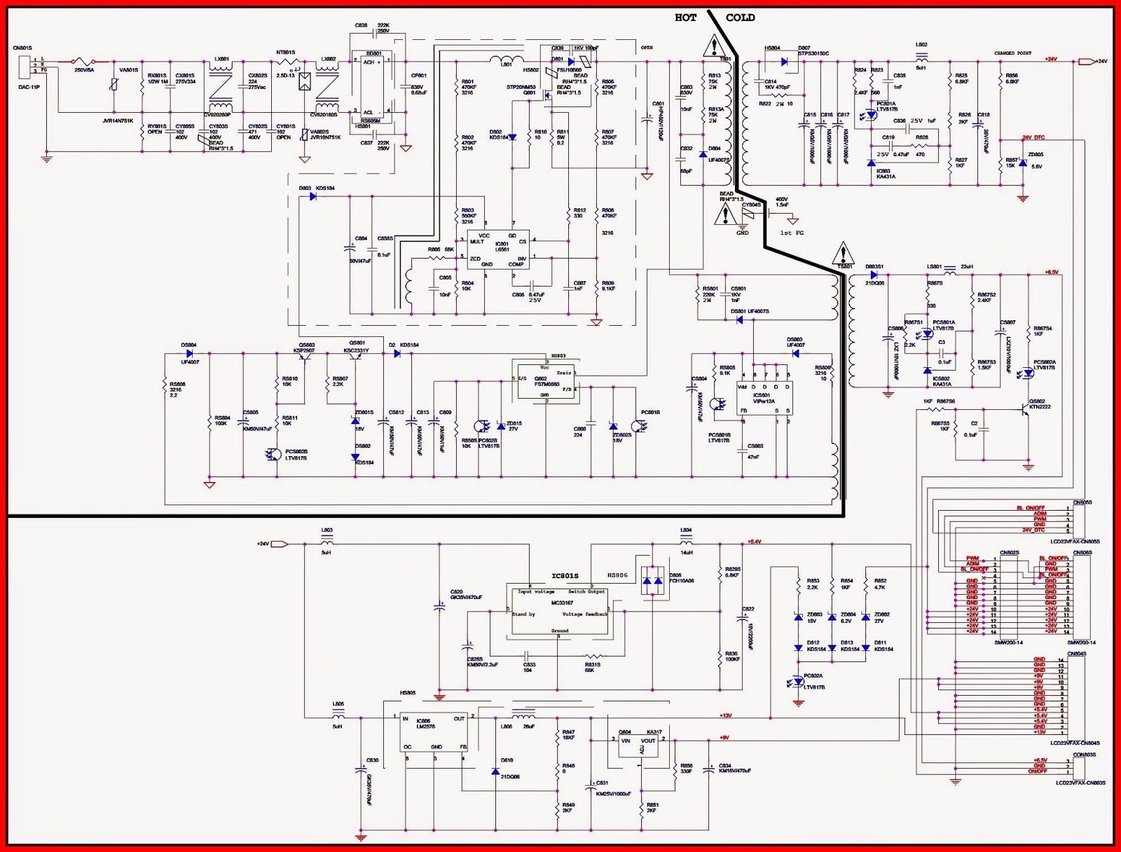 Diagram Philips Radio Auto Electrical Wiring Tv Power Supply Ac Matic Using Pc8178 2sd2498 Bn 96 Samsung Schematic Circuit
