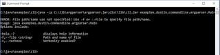 Java Command-Line Interfaces (Part 22): argparser